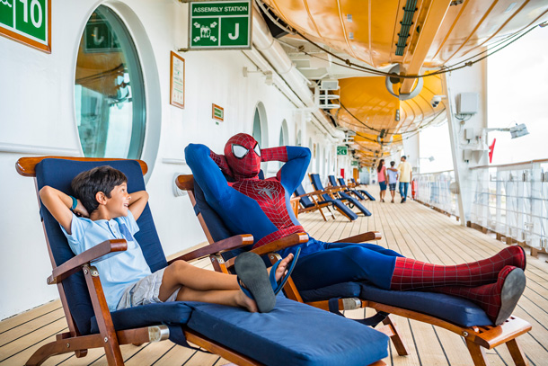 Spider-Man -  Marvel Day at Sea on the Disney Magic