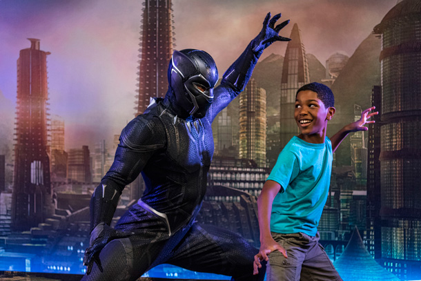 Black Panther's Debut - Marvel Day at Sea on the Disney Magic