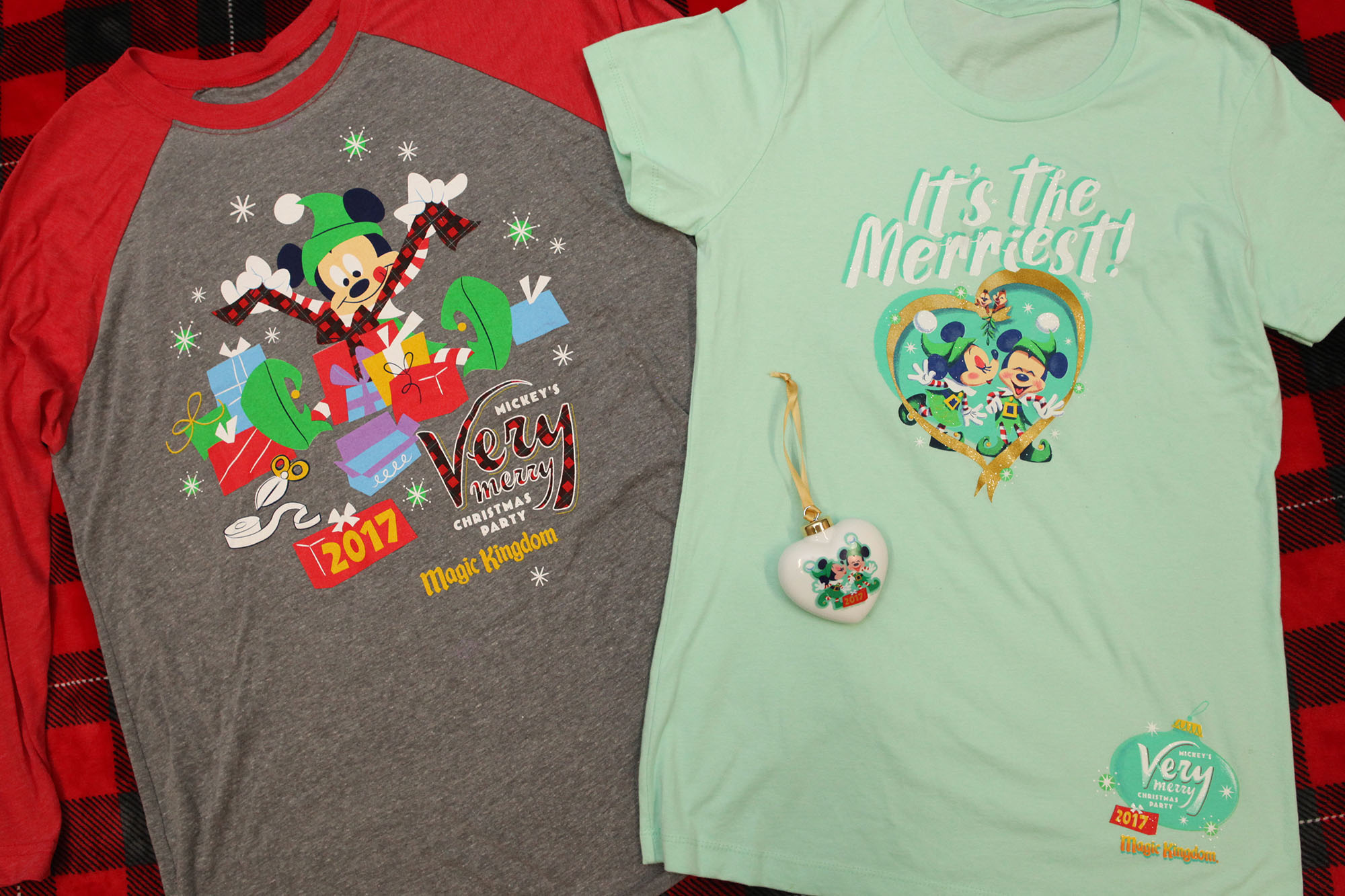Mickey's Very Merry Christmas Party Merchandise