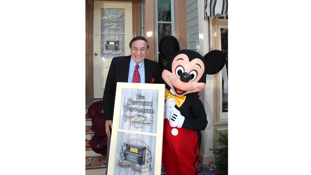 Disney Legend Richard M. Sherman