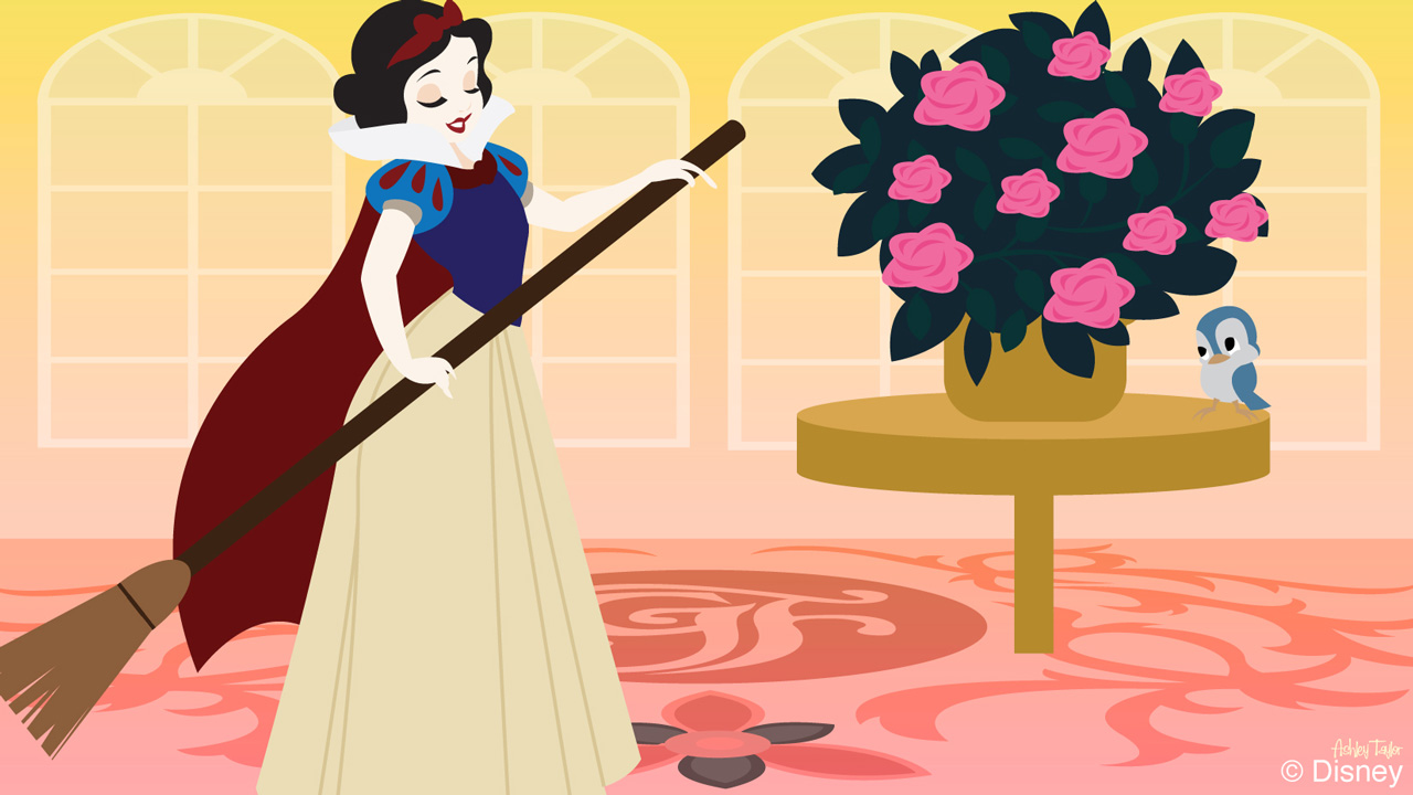 Disney Doodle: Snow White