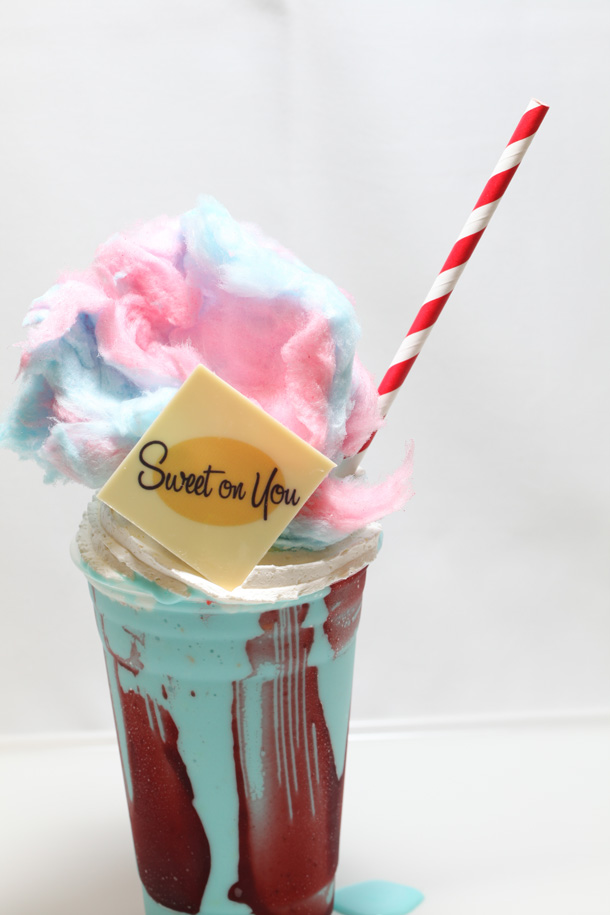 Cotton Candy Milkshake at Sweet on You Aboard the Disney Fantasy