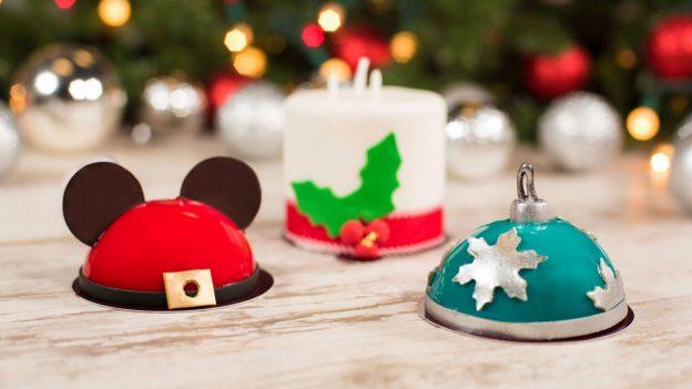 Mini Dome Cakes at Amorette's Patisserie