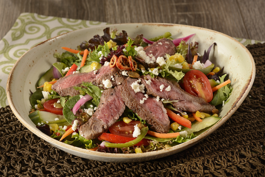 A Lot At Steak Salad at Jungle Navigation Co. Ltd. Skipper Canteen in Magic Kingdom Park