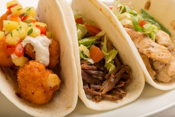 Taco Trio at Pecos Bill Tall Tale Inn and Café in Magic Kingdom Park