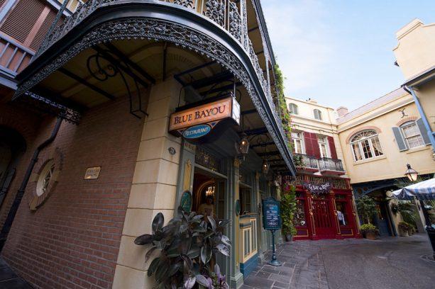 Blue Bayou Restaurant at Disneyland Park