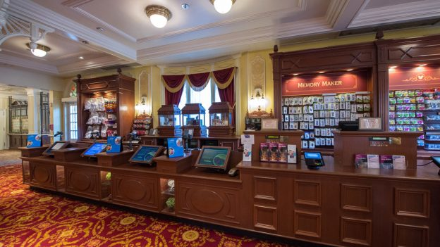 Disney PhotoPass Location - Inside Town Square Theater at Magic Kingdom Park