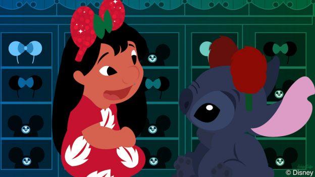 Lilo & Stitch Visit The Chapeau Hat Shop