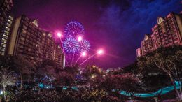 Fireworks at Aulani, a Disney Resort & Spa