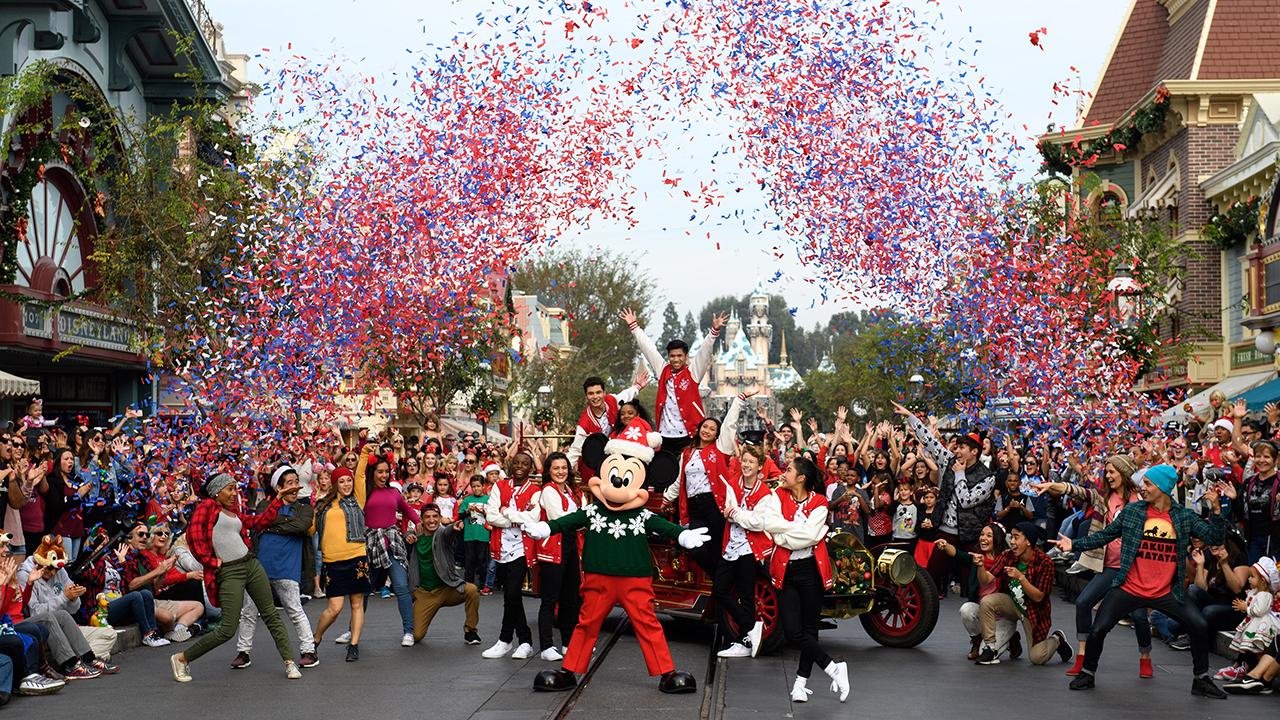 Disney Parks Magical Christmas Celebration Airs