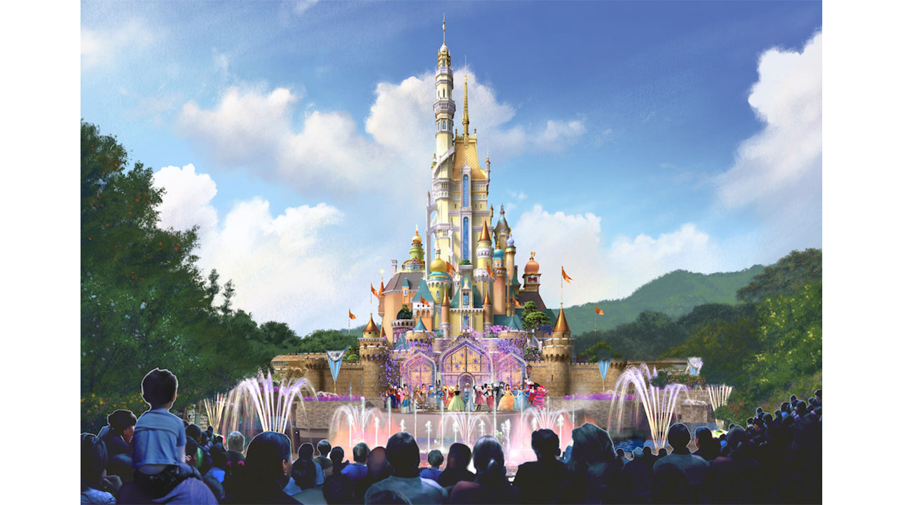 12 Days Of Disney Parks Christmas Hong Kong Disneyland