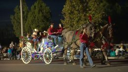 Disneyland Resort Horses Continue Norco Parade of Lights Tradition