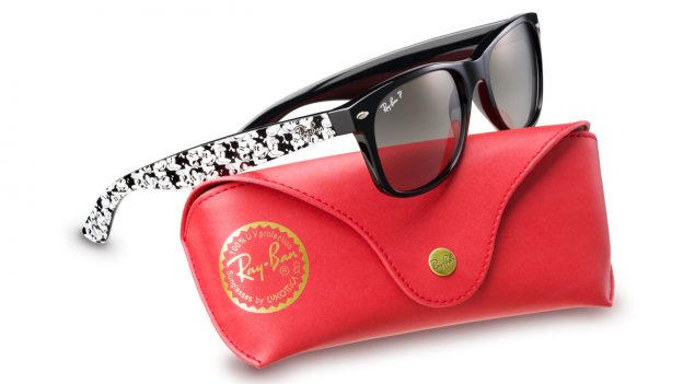 Ray-Ban Sunglasses Featuring Mickey Mouse