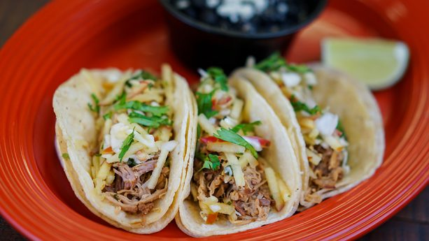Beer-Braised Pork Tacos at Disney California Adventure Food and Wine Festival