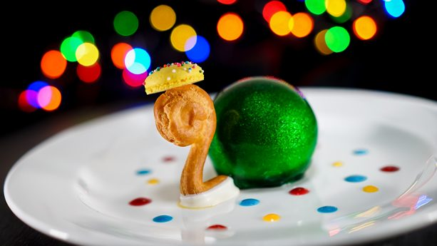 Main Street Electrical Parade Turtle Dessert at Blue Bayou in Disneyland Park