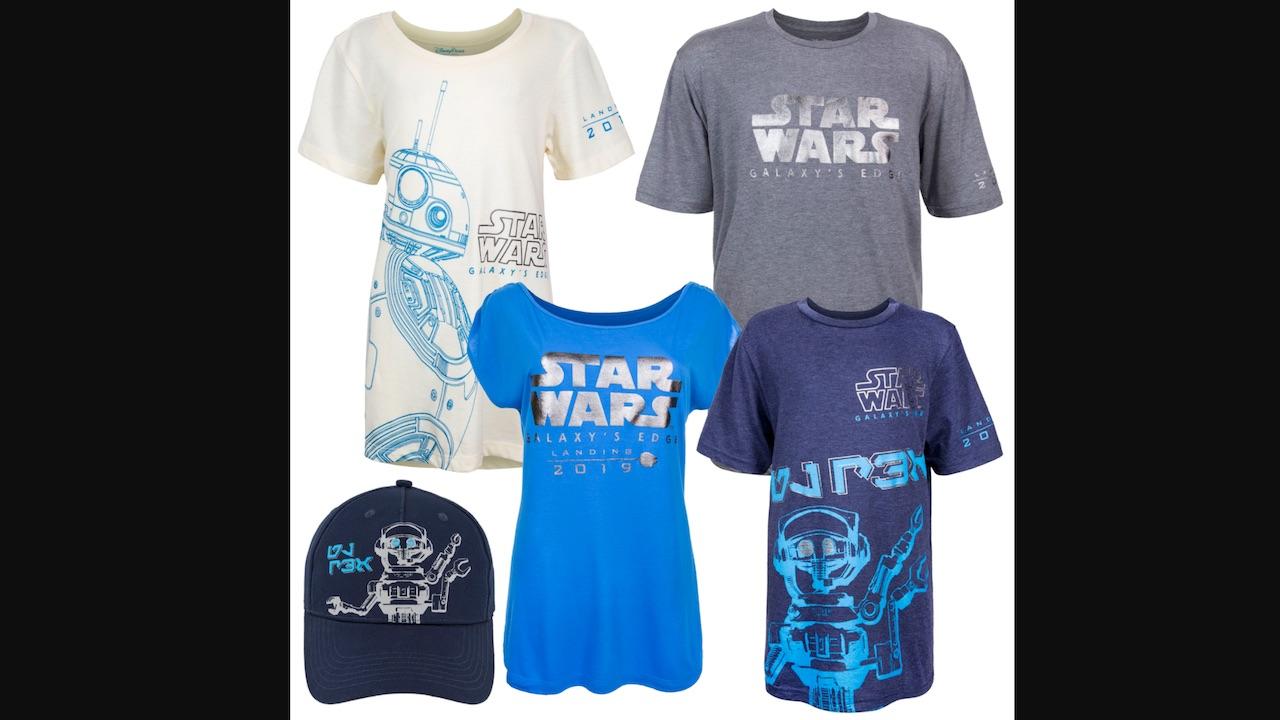 Star wars galaxy s edge merchandise unveiled disney for Merchandising star wars