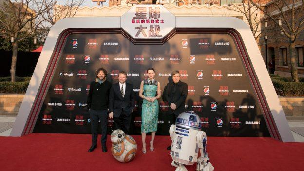 Star Wars: The Last Jedi Premiere at Shanghai Disney Resort