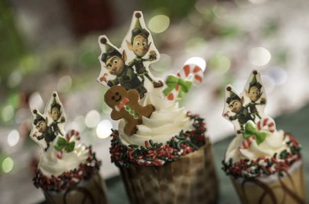Gingerbread Cupcakes for Flurry of Fun at Disney's Hollywood Studios