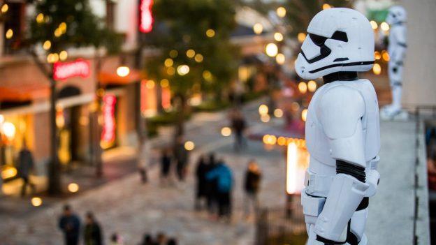 Stormtroopers at Disneytown in Shanghai