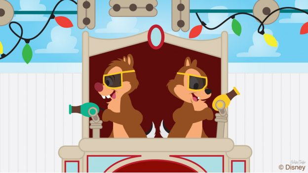 Chip & Dale Compete at Disney's Hollywood Studios