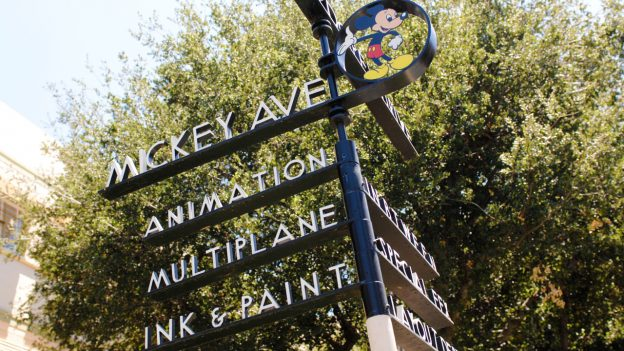 Disney Studio street signs on Adventures by Disney Southern California vacation