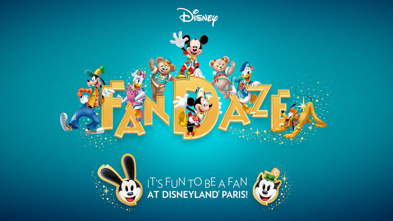 FanDaze, A Fan-Tastic Celebration Coming to Disneyland Paris on June 2