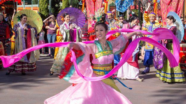 Lunar New Year Celebration at Disney California Adventure Park