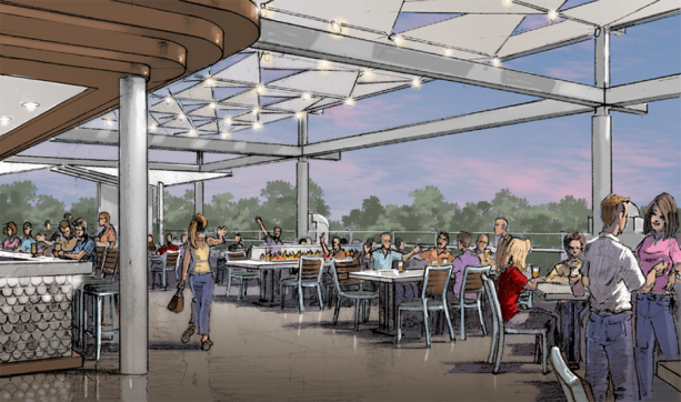 Ballast Point Brewery at Downtown Disney Concept Art
