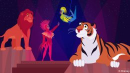 Disney Doodle: Rajah Takes In 'Festival of the Lion King'