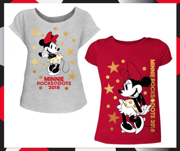 Minnie Mouse-Inspired Products #RockTheDots for National Polka Dot Day 2018 at Disney Parks