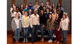 Broadway stars Kissy Simmons and Alton Fitzgerald White surprise Delaware's Cape Henlopen High School Choir