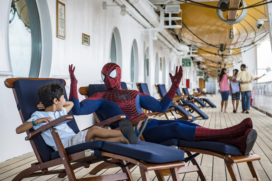 See Spider-Man During Marvel Day at Sea with Disney Cruise Line