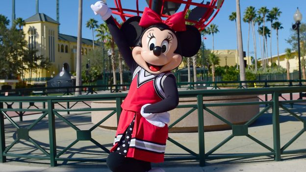 Minnie Mouse's New Cheerleading Uniform