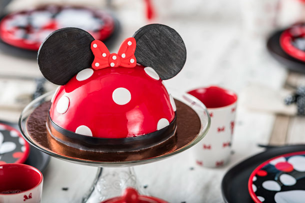 Minnie Mouse Dome Cake from Amorette's Patisserie at Disney Springs