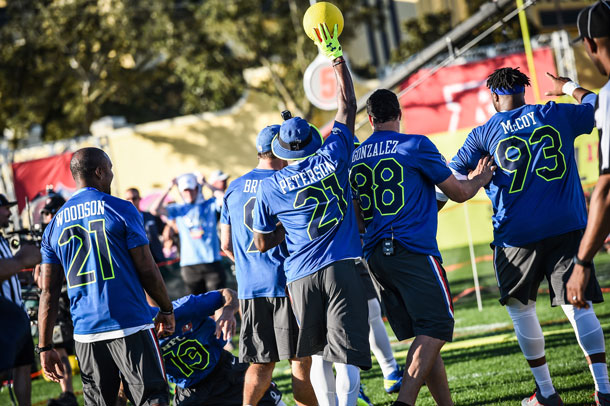 NFL Pro Bowl activities at Walt Disney World
