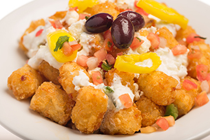 Greek Tots at The Friar's Nook at Magic Kingdom Park