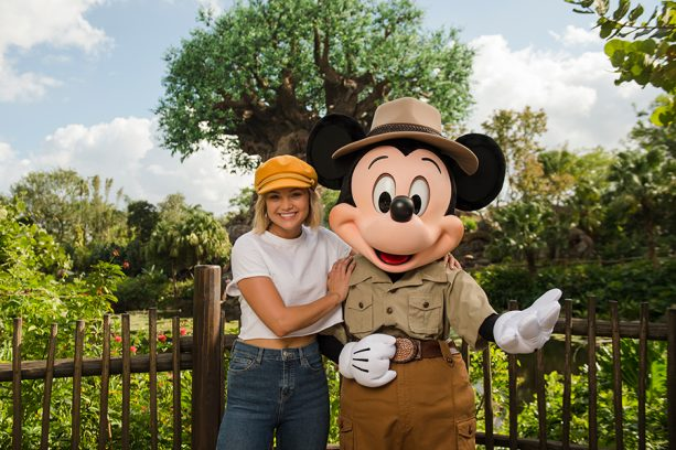 Celebrity Spotlight: Olivia Holt Vacations at Walt Disney World Resort