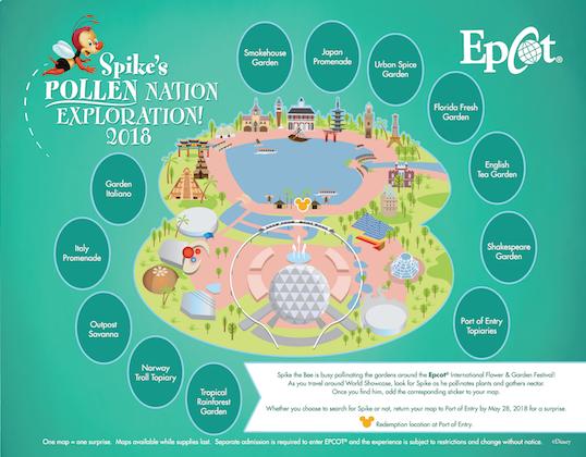 New Honey Bee Scavenger Hunt Added to Epcot International Flower & Garden Festival