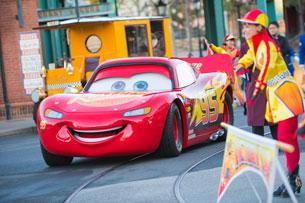 Lightning McQueen at Tokyo DisneySea