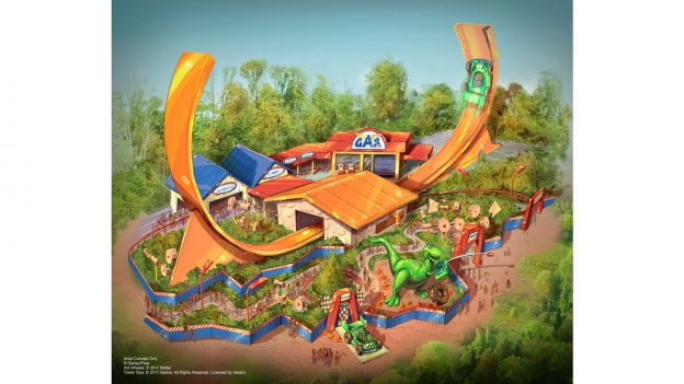 Toy Story Land at Shanghai Disneyland
