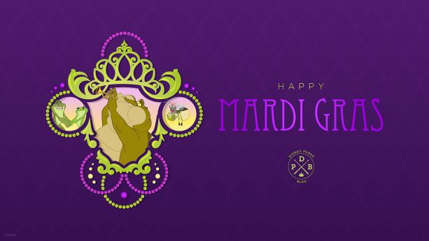 Princess and the Frog Wallpaper, Mardi Gras