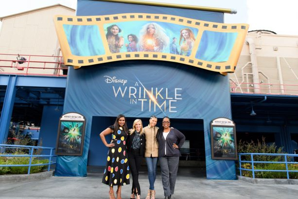 A Wrinkle in Time Cast at Disneyland