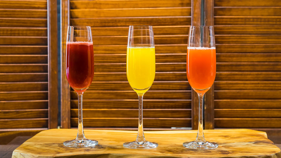 Mimosa Flight at Disney California Adventure Food & Wine Festival