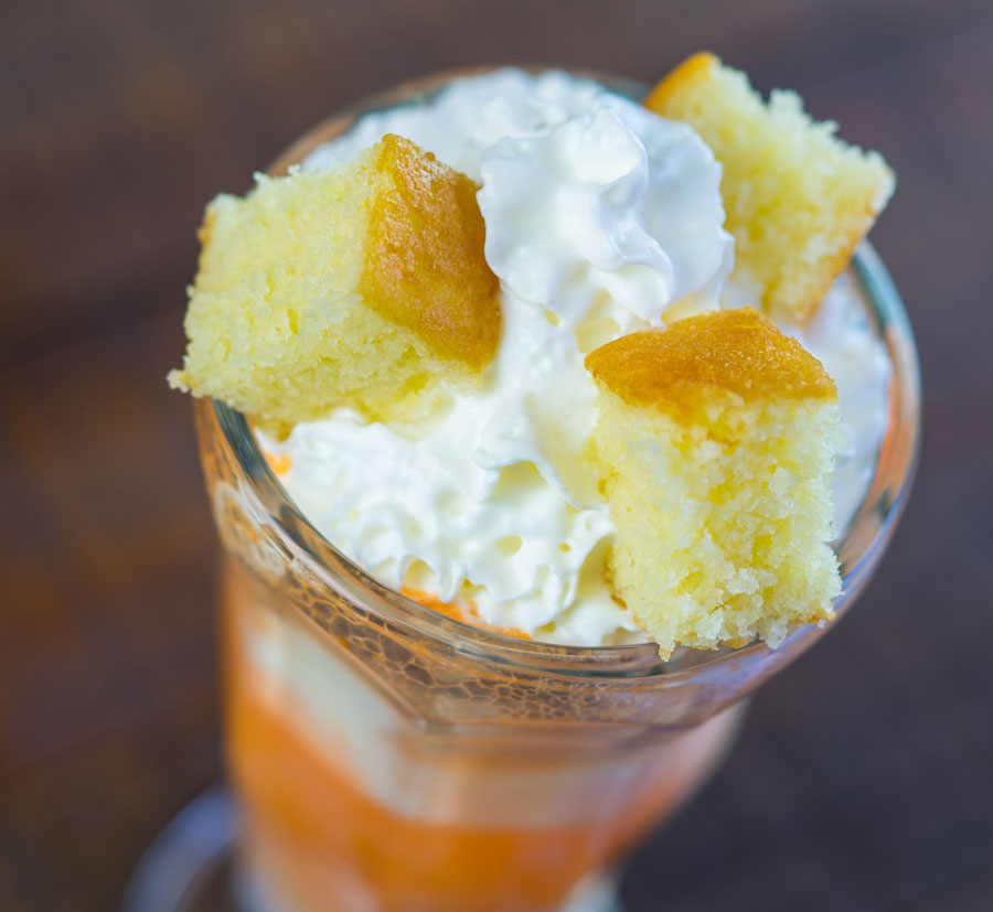 Orange-Vanilla Cream Float at Disney California Adventure Food & Wine Festival