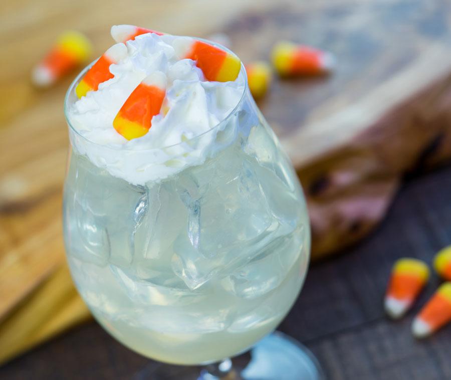 Popcorn Lemonade Cocktail at Disney California Food & Wine Festival