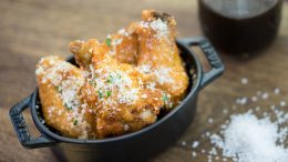 Salt & Beer Vinegar Parmesan Chicken Wings at Disney California Adventure Food & Wine Festival