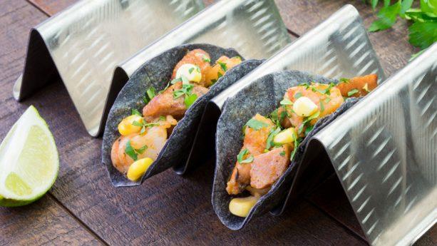 Shrimp Boil Tacos at Disney California Adventure Food & Wine Festival