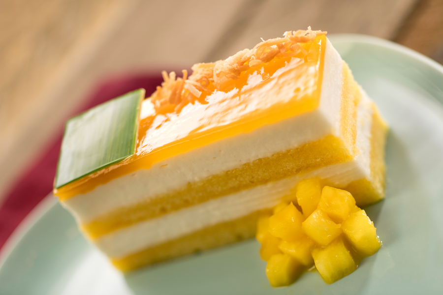 Tropical Mousse Cake at La Isla Fresca at the Epcot International Flower & Garden Festival