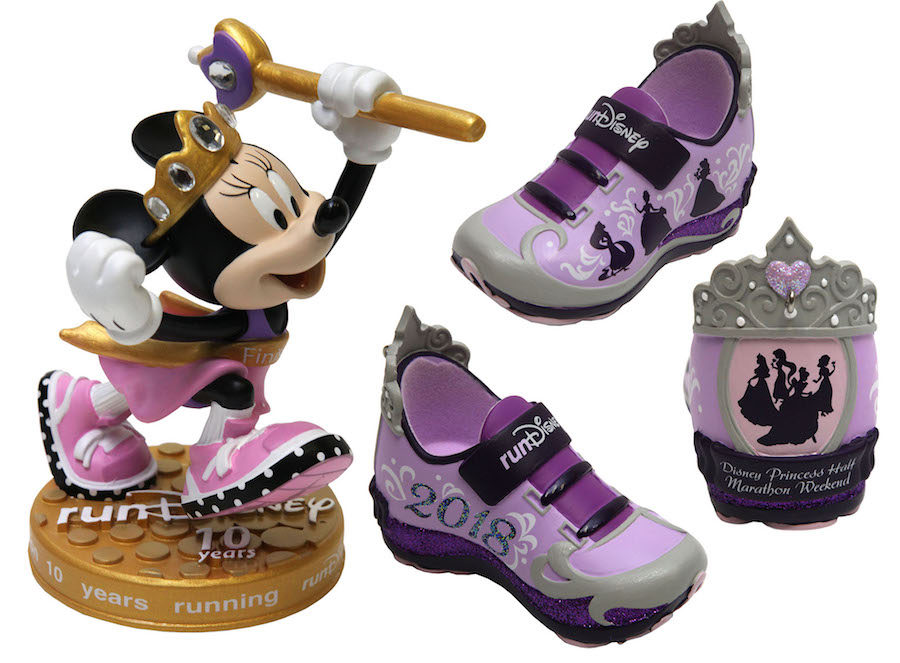 2018 Disney Princess Half Marathon Minnie figurine