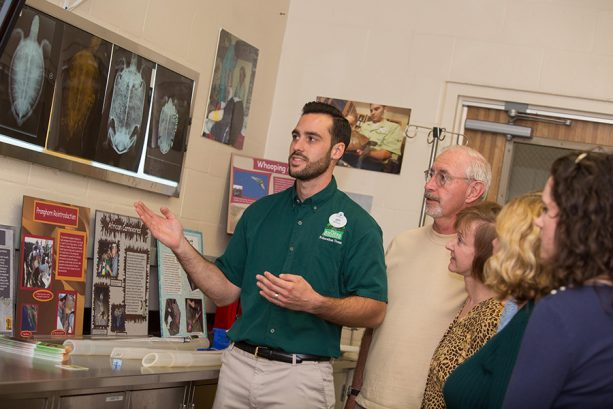 Disney's Animal Kingdom guests learn about what goes on behind-the-scenes as part of the A Path Less Traveled experience